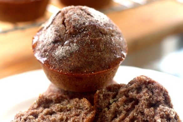 Honey Finger Millet(Zviyo) Muffins