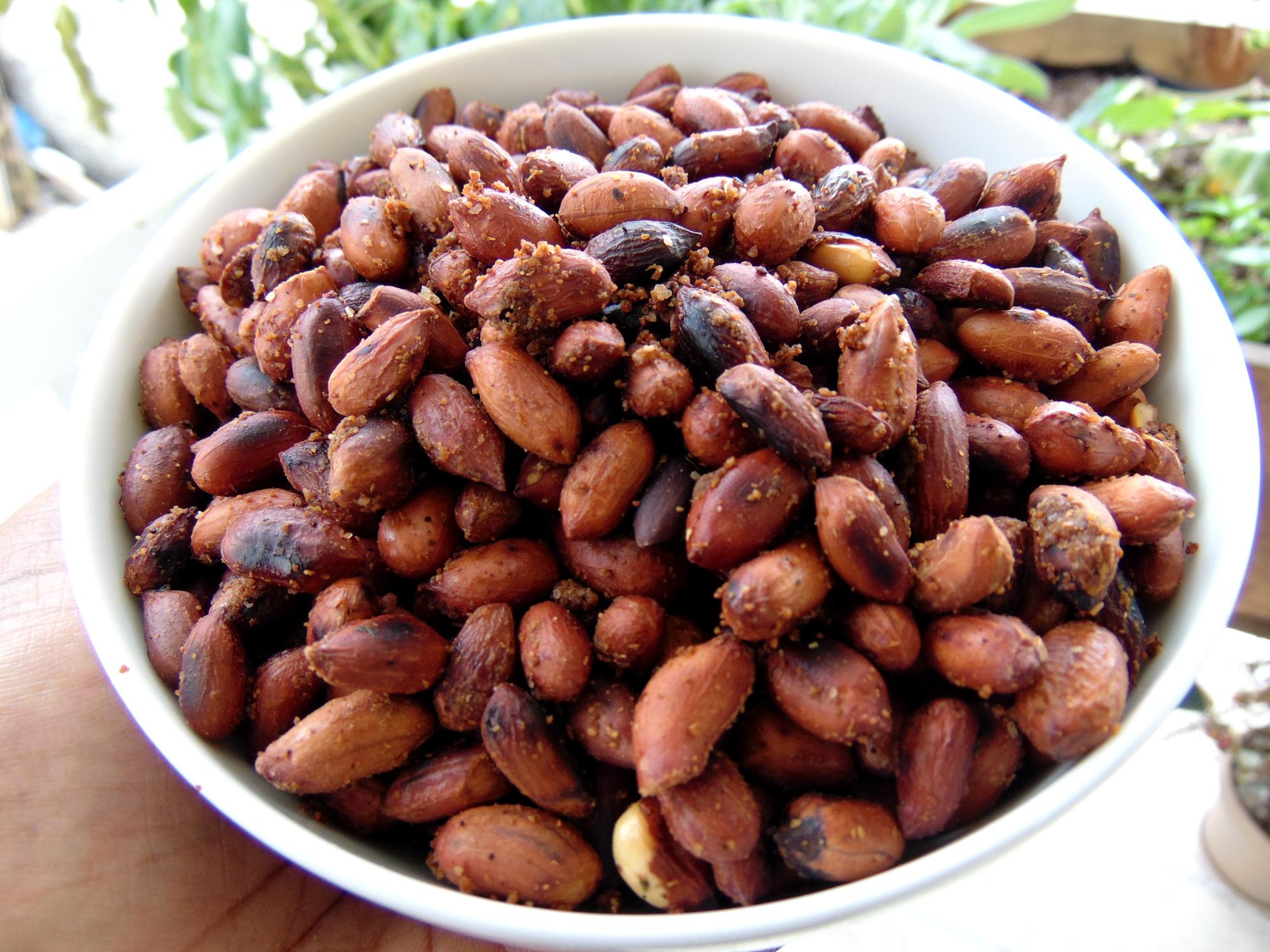 Spicy Roasted Peanuts - PrincessTafadzwa